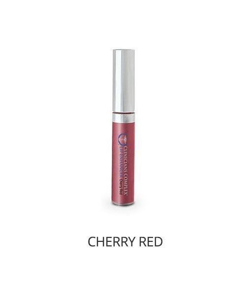 Lip Enhancer in Cherry Red
